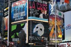 Квадрат времени в New York City Стоковые Фотографии RF