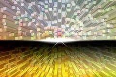 Квадрат выбивает абстрактную предпосылку Стоковое Фото