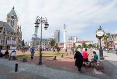 Квадрат в Батуми Стоковое Фото