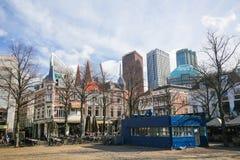 Квадрат в Гааге, Нидерланды Стоковая Фотография RF