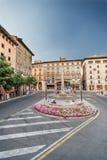 Квадрат в Palma de Mallorca Стоковые Изображения RF
