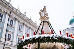 Квадрат в Passau Германии Стоковые Изображения RF