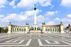 Квадрат героев, Венгрия, Будапешт стоковые фотографии rf