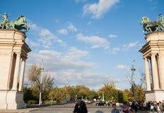 Квадрат героя Стоковые Фото