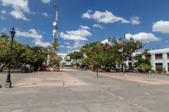 Квадрат города Леона в Никарагуа Стоковая Фотография