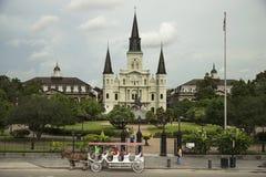 Квадрат Джексона в Новом Орлеане Стоковое фото RF