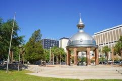 Квадрат здания суда Джо Chillura, металлический купол, Тампа, Флорида Стоковое фото RF