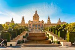 Квадрат Испании или Placa De Espanya, Барселона, Испания стоковые изображения