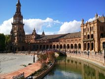 Квадрат Испании Стоковое фото RF
