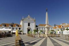 Квадрат Капера de Pombal в Vila Реальн de Santo Антонио стоковое изображение rf