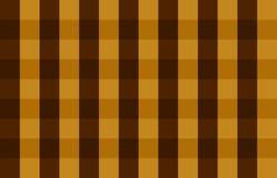 квадрат коричневой картины безшовный Стоковая Фотография RF