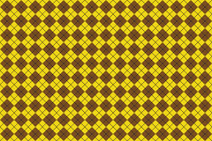 квадрат коричневой картины безшовный Стоковое Фото
