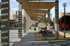 Квадрат короля Cartagena Испании стоковая фотография rf