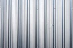 Квадрат металла предпосылки крупного плана вертикального цинка алюминиевый Стоковое Изображение