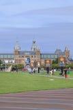 Квадрат на сумраке, Амстердам музея, Нидерланд Стоковое Фото