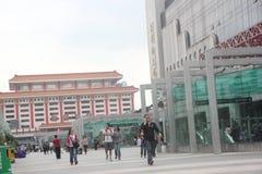 Квадрат порта Luohu в ¼ ŒAsia Œchinaï ¼ shenzhenï Стоковые Изображения RF