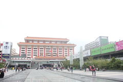 Квадрат порта Luohu в ¼ ŒAsia Œchinaï ¼ shenzhenï Стоковое фото RF