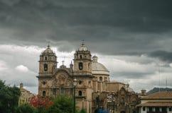 Квадрат ратника, Cusco стоковое фото rf