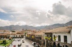 Квадрат ратника, Cusco стоковые изображения