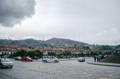 Квадрат ратника, Cusco стоковое изображение rf