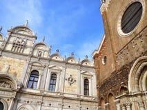Квадрат Сан Marco, Венеция Стоковое Фото