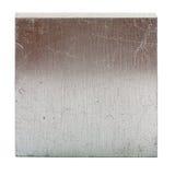 Квадрат свернутый алюминием с коричневым отражением Стоковые Фото