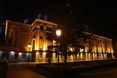 Квадрат свободы в Тбилиси с памятником свободы, Georgia Стоковая Фотография RF