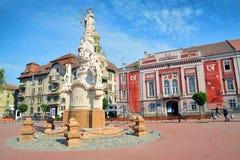 Квадрат свободы, timisoara, Румыния Стоковая Фотография RF