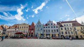 Квадрат Таллина, Эстония Стоковые Изображения RF