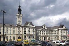 Квадрат театра в Варшаве Стоковые Фотографии RF