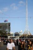 Квадрат федерации - Мельбурн Стоковая Фотография RF