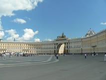 квадрат дворца Стоковые Изображения