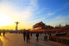 Квадрат anmen Tian Стоковая Фотография