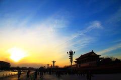Квадрат anmen Tian Стоковое фото RF