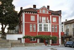 квадрат ashkhabad центральный Здание в Belogradchik bulbed стоковое изображение rf