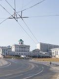 Квадрат Borovitskaya в Москве Стоковое Фото