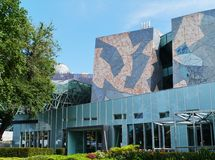 Квадрат Fed в Мельбурне в Австралии стоковое фото rf