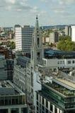 Квадрат Finsbury, Лондон - вид с воздуха Стоковые Фото