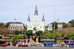 квадрат jackson New Orleans Стоковое Изображение RF