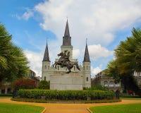 квадрат jackson New Orleans Стоковая Фотография RF