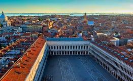 Квадрат marco Сан, Венеция, Италия Стоковые Фото