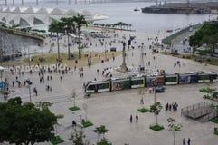 Квадрат Maua в Рио-де-Жанейро стоковое фото rf