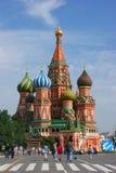 квадрат moscow красный России стоковые фотографии rf