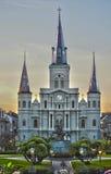 квадрат New Orleans la jackson Стоковая Фотография RF