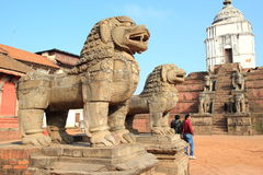 Квадрат Patan durbar. Стоковая Фотография