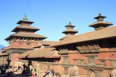 Квадрат Patan Durbar стоковая фотография rf