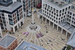 Квадрат Paternoster, Лондон стоковые фотографии rf