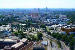 Квадрат Potsdamer, Берлин, Германия Стоковые Фото