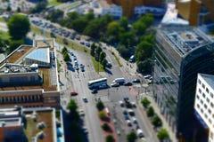 Квадрат Potsdamer, Берлин, Германия Стоковая Фотография