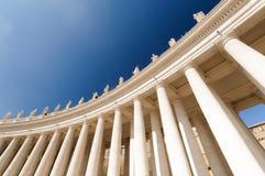 Квадрат St Peter s, базилика St Peter s, государство Ватикан; Стоковое Изображение RF